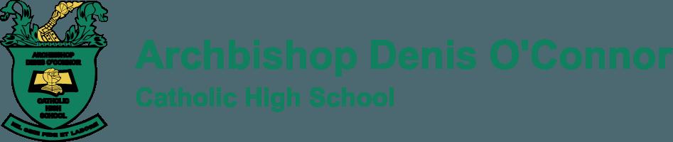 Archbishop Denis O'Connor Catholic High School Logo